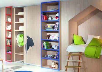 Gyerekszoba beépített szekrény_24