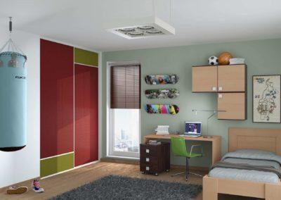Gyerekszoba beépített szekrény_5